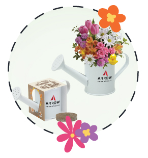 Spring-Arrow Promotional-Watering Can